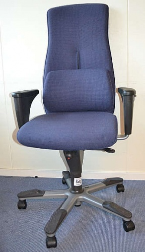 1 stk. Kontorstol fra ISKU lett og behagelig stol | FINN.no