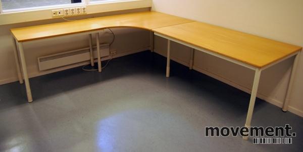 Duba B8 hevsenk skrivebord 120x80 med ny plate. 12stk