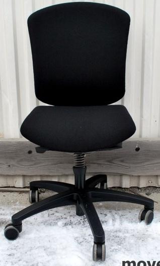 Kinnarps 9000 CV stol (Sort, Grå)