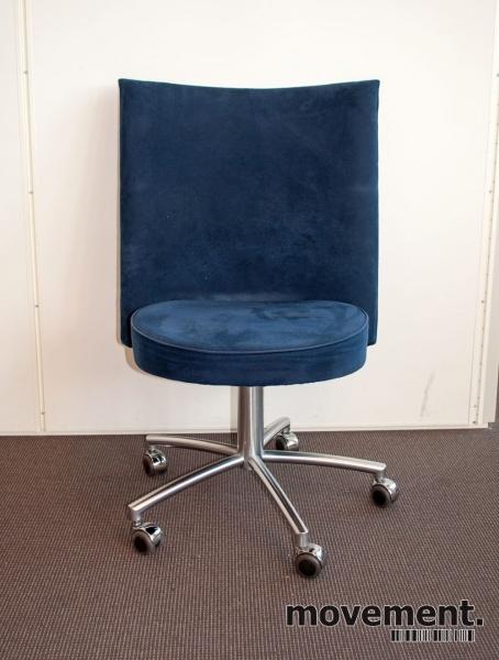 3 stk. Erik Jørgensen Partner stol i skin design stol