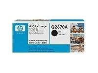 Toner til HP Color LaserJet 3500/3550/3700 - Q2670A / 309A, Sort/Black, ORIGINAL/ UBRUKT