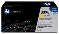 Original HP Toner Q2672A / 309A til HP Color LaserJet 3500/3550, Yellow/Gul, NY I ESKE