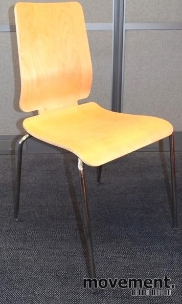 Konferansestol: Gilbert stol fra Ikea ibjerk finer krom