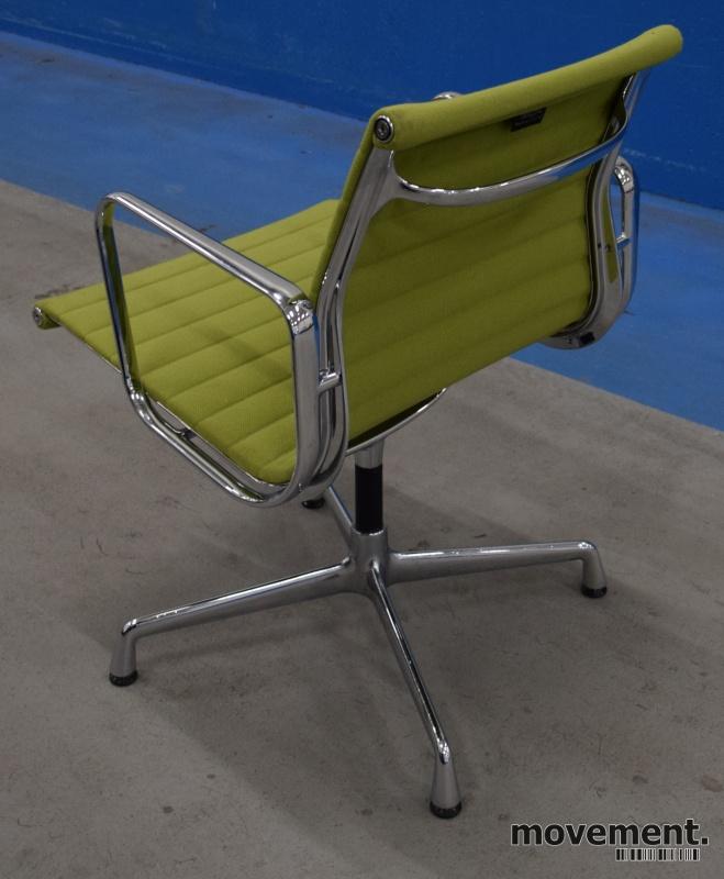 Eames EA108 conference chair i sortskinn, Vitra original