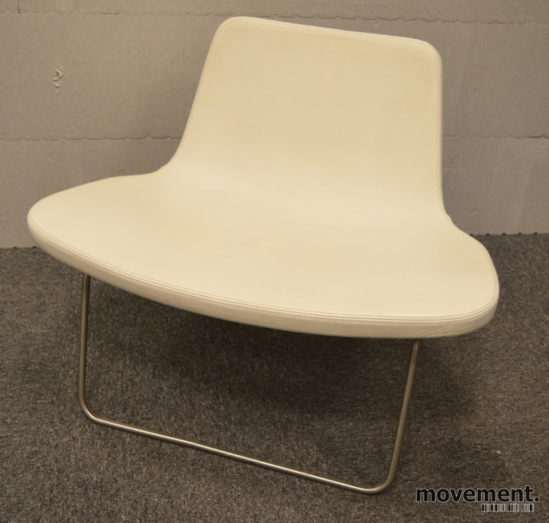 Ray Lounge Chair by Hay, design JakobWagner, sort skinn
