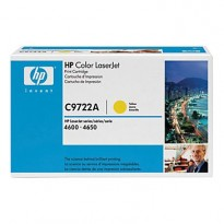 Toner til HP Color LaserJet 4600/4610/4650 - C9722A / 641A, Yellow, ORIGINAL/ UBRUKT