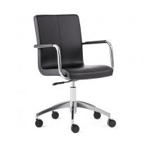 24 timersstol LIVERPOOL, svart stoff | AJ Produkter