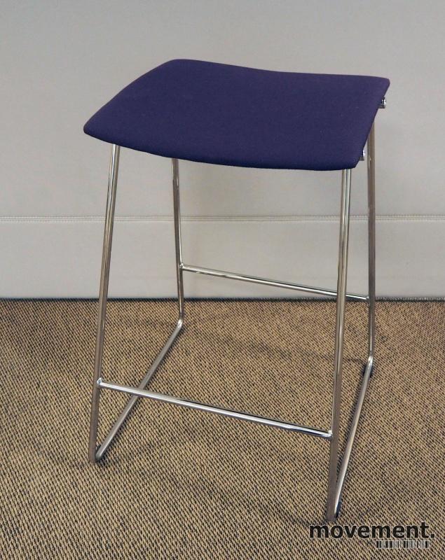 Barkrakk barstol fra Randers+Radius ililla krom, mod