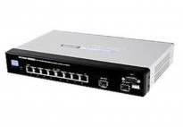 Linksys SRW2008P-EU Gigabit PoE 8-port 10/100/1000 L3 Managed Gigabit Switch, pent brukt