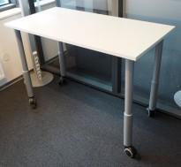 IKEA Bestå skrivebord i brunbeiset tre,120x60 cm, pent brukt