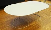 IKEA Klubbo hvitt loungebord sofabord,28 cm høyde, 97 cm